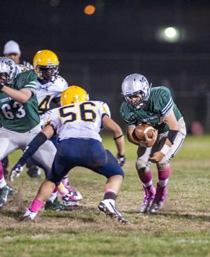 Football: Raiders ground Hawks in Sierra Valley Conference showdown