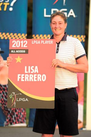 Future on LPGA is in the cards for Lisa Ferrero
