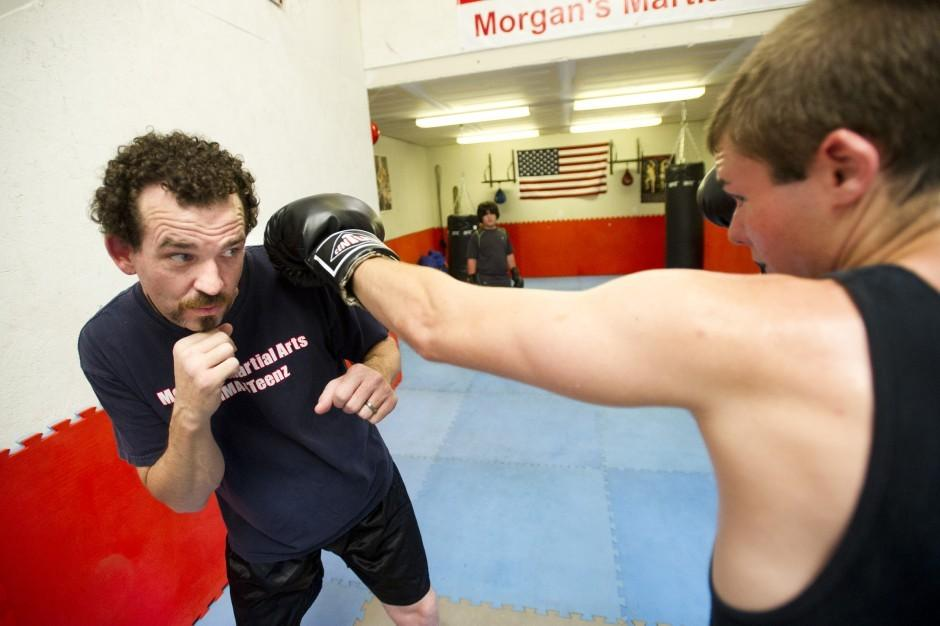 Martial arts help teens learn discipline