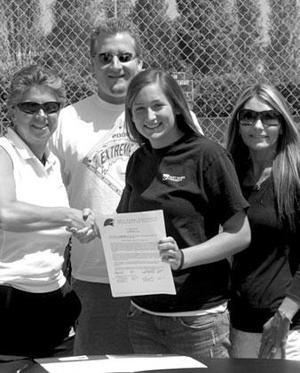 Lodi's Jordynn Elwood signs with Holy Names University