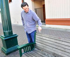 Downtown merchants fight against loitering and vandalism on Elm Street