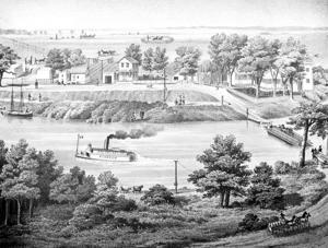 Benson's Ferry sparks beginnings of Thornton