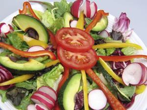 Take advantage of seasonal spring vegetables by enjoying fresh salads