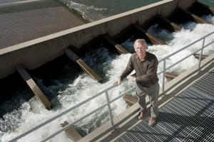 Woodbridge Irrigation District General Manager Andy Christensen credited for salmon run growth