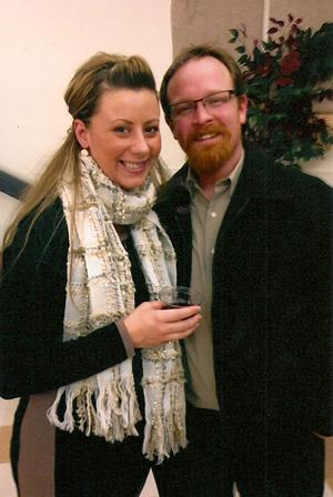 Greg Miner and Sarah Gruber were engaged last October in Monterey