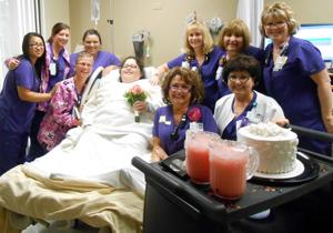 Couple married at Lodi Memorial Hospital on 10/11/12
