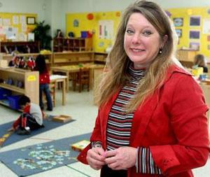 Preschool director explains Montessori teaching method
