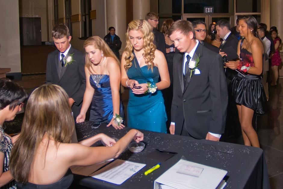 Lodi High School prom