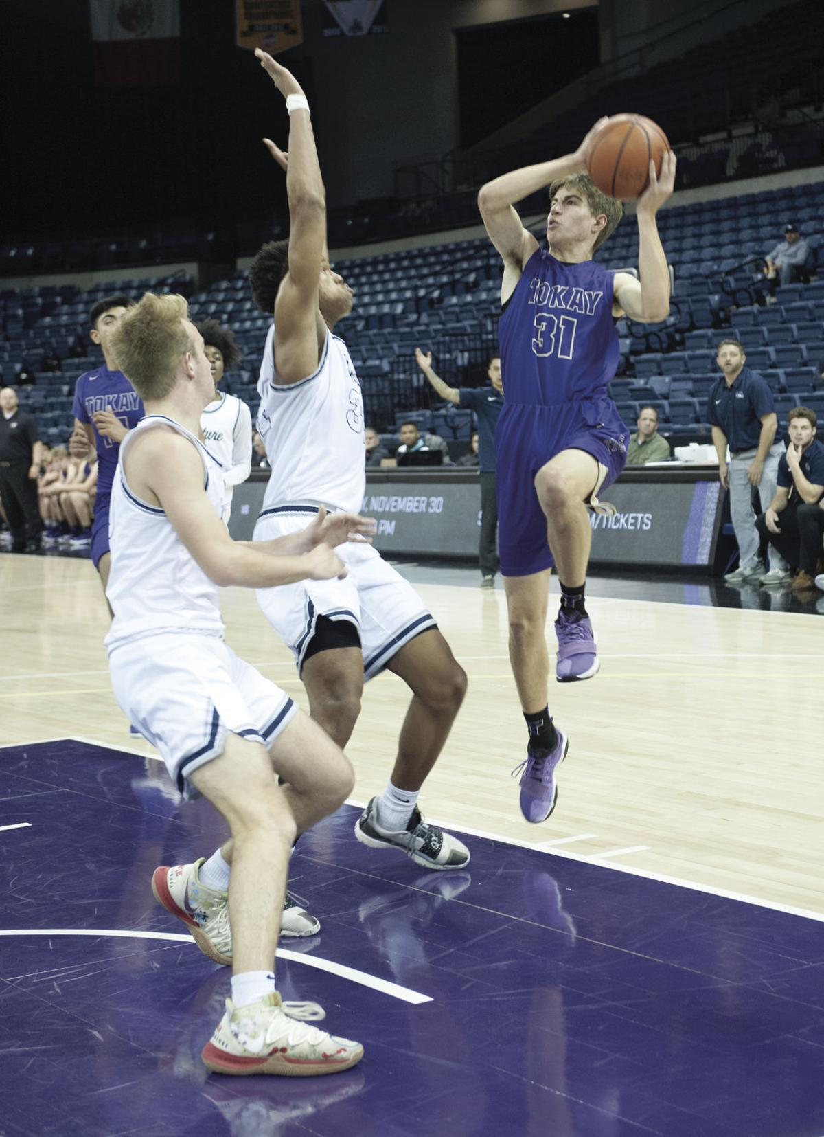 Boys basketball: Tokay can't corral Mustangs