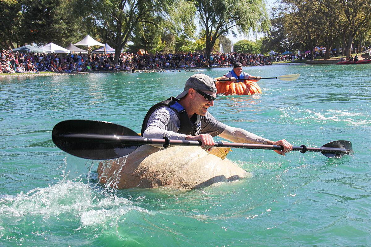 Organizers hope for another record-setting Elk Grove Giant Pumpkin Festival