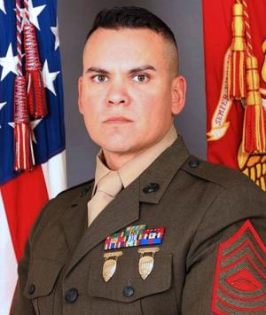 Marine Orlando Reyes, who once recruited in Lodi, honored for work helping veterans