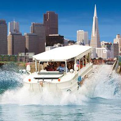 Tour San Francisco by land and water on Ride The Duck