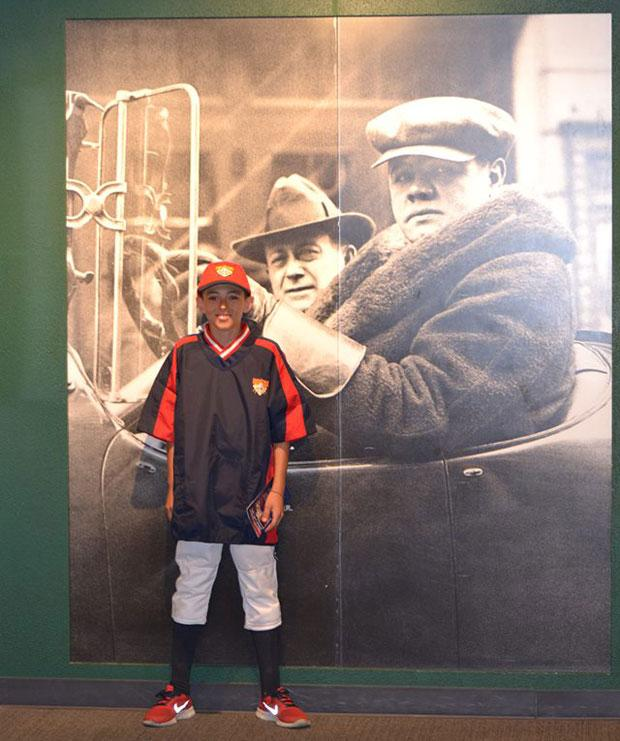 Present, past both on display as Lodi Reds baseball team visits Cooperstown