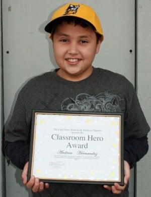 Lockeford School names Classroom Heroes