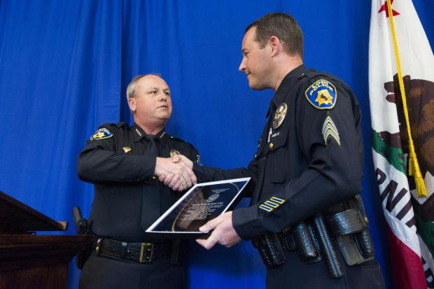 Lodi Police Chief Mark Helms salutes courage, decency among officers, volunteers