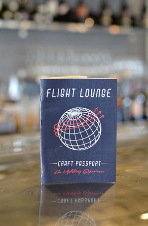 Nosedive your taste buds into the Flight Lounge