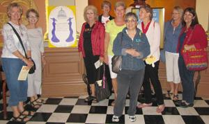American Association of University Women Day Trippers go to Sacramento