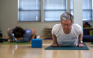 Yoga offers many health benefits for seniors