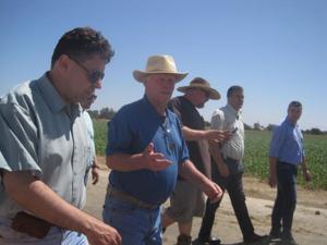 Kosovo agricultural leaders visit Galt dairy