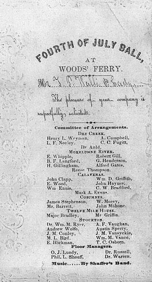 Huge 1855 celebration held at Woods' Ferry