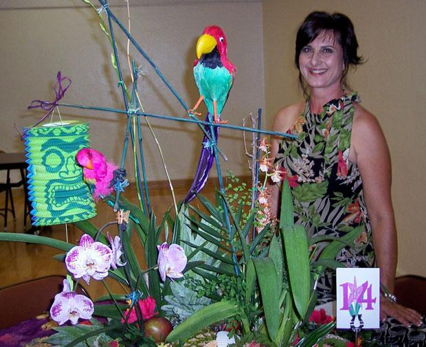 Lodi Garden Club learns about orchids at meeting