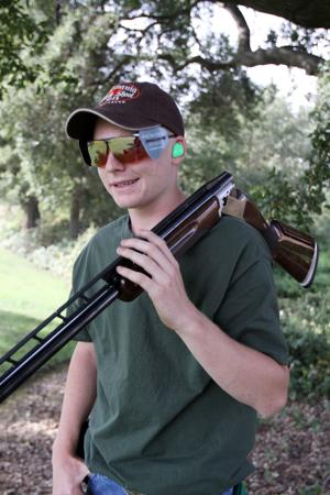 Acampo sharpshooter Hunter Hayes has a blast in his first year of competition