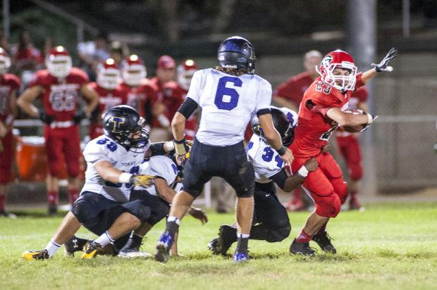 Football: Tigers go on record scoring spree in rout