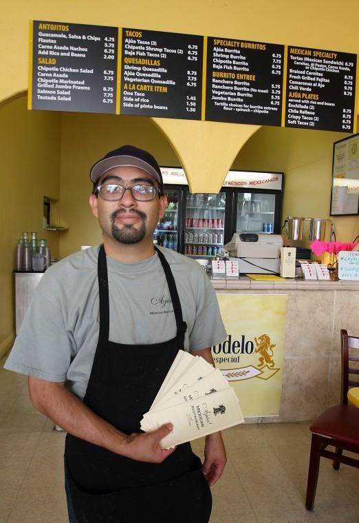 Braised carnitas, tacos in Downtown Lodi