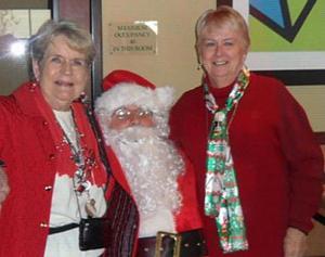 Soroptimists host Christmas party for Hope Harbor women's group