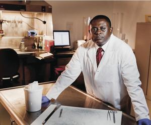 Dr. Bennet Omalu speaks on consequences of concussions; will be in Lodi for book signing