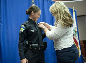 Lodi Police celebrate promotions, badge pinnings