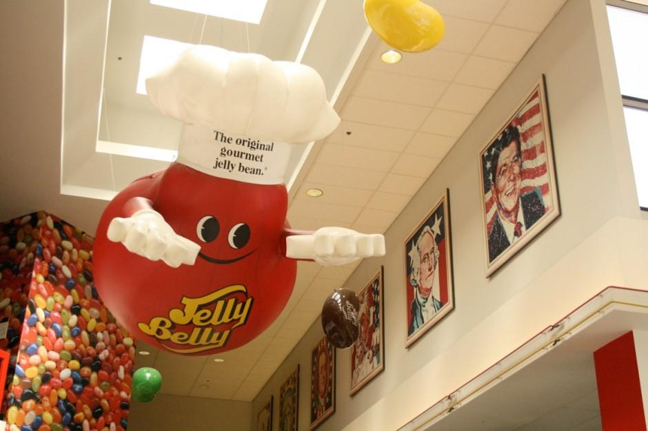 Take a tour and taste jelly beans at the Jelly Belly Factory