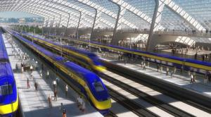 California High-Speed Rail Authority approves first section of state's high-speed rail line
