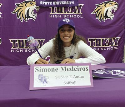 Signing period: Tokay's Medeiros signs with D-I Stephen F. Austin