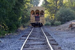 Lodi's Tom Presler conducts tours on Sacramento Zombie Train