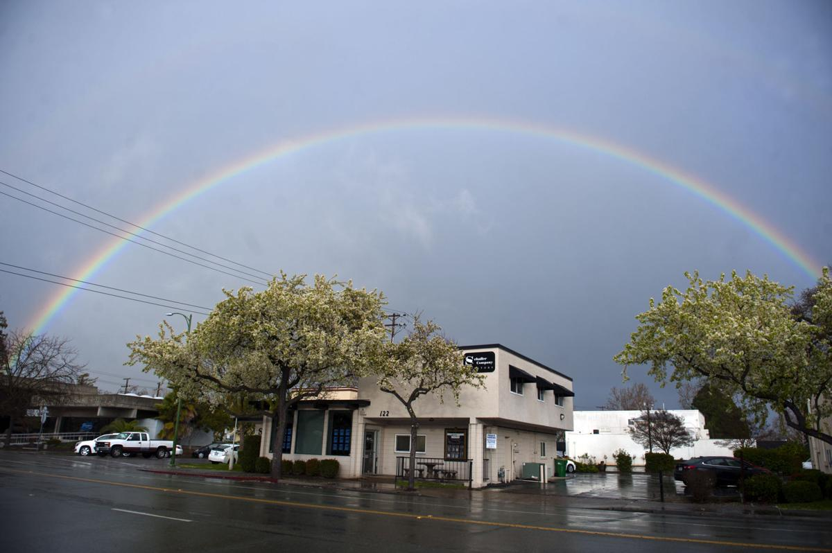 Rainbow over Lodi