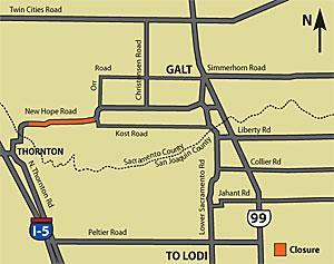 Floods recede: Road from Galt to Thornton may open by Sunday