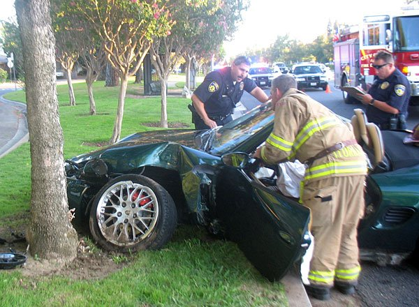 Driver injured in Lower Sacramento Road crash | News | lodinews com