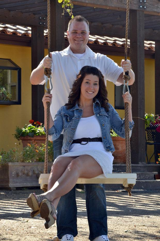Jeff Skadburg, Malori Mencarini engaged at Dave Wong's in Stockton