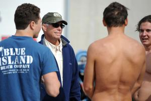 Lodi's Griffin keeping pace: Veteran swim coach still going with pacemaker