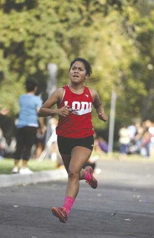 Athlete of the week: Lodi's Hernandez gaining speed