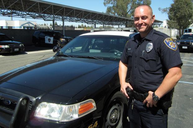 Nine-year Galt police veteran Kyle Slater keeps active on patrol