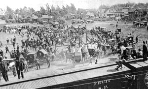 Fundraiser game scored $70 for the Lodi Fire Department in 1912