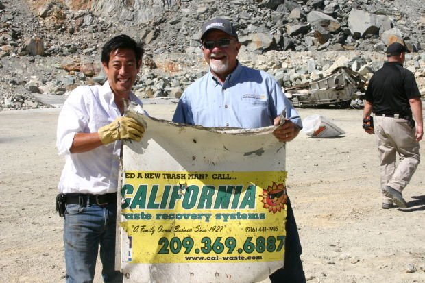 Discovery Channel's 'Mythbusters' blow up Cal-Waste truck