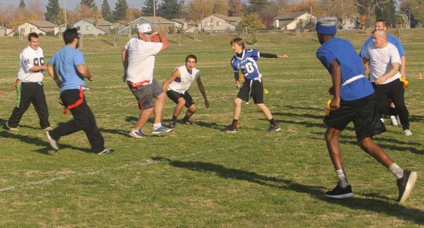 Lodi churches play their first 'Turkey Bowl'