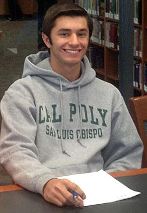 Joey Caffese officially signs with Cal Poly