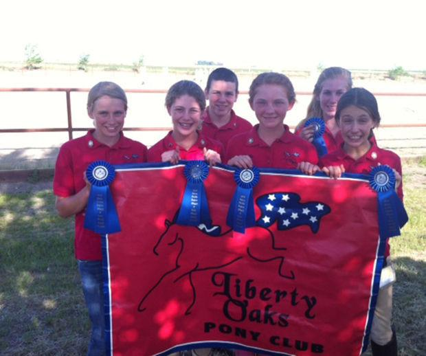 Members of Liberty Oaks Pony Club place first in recent rally