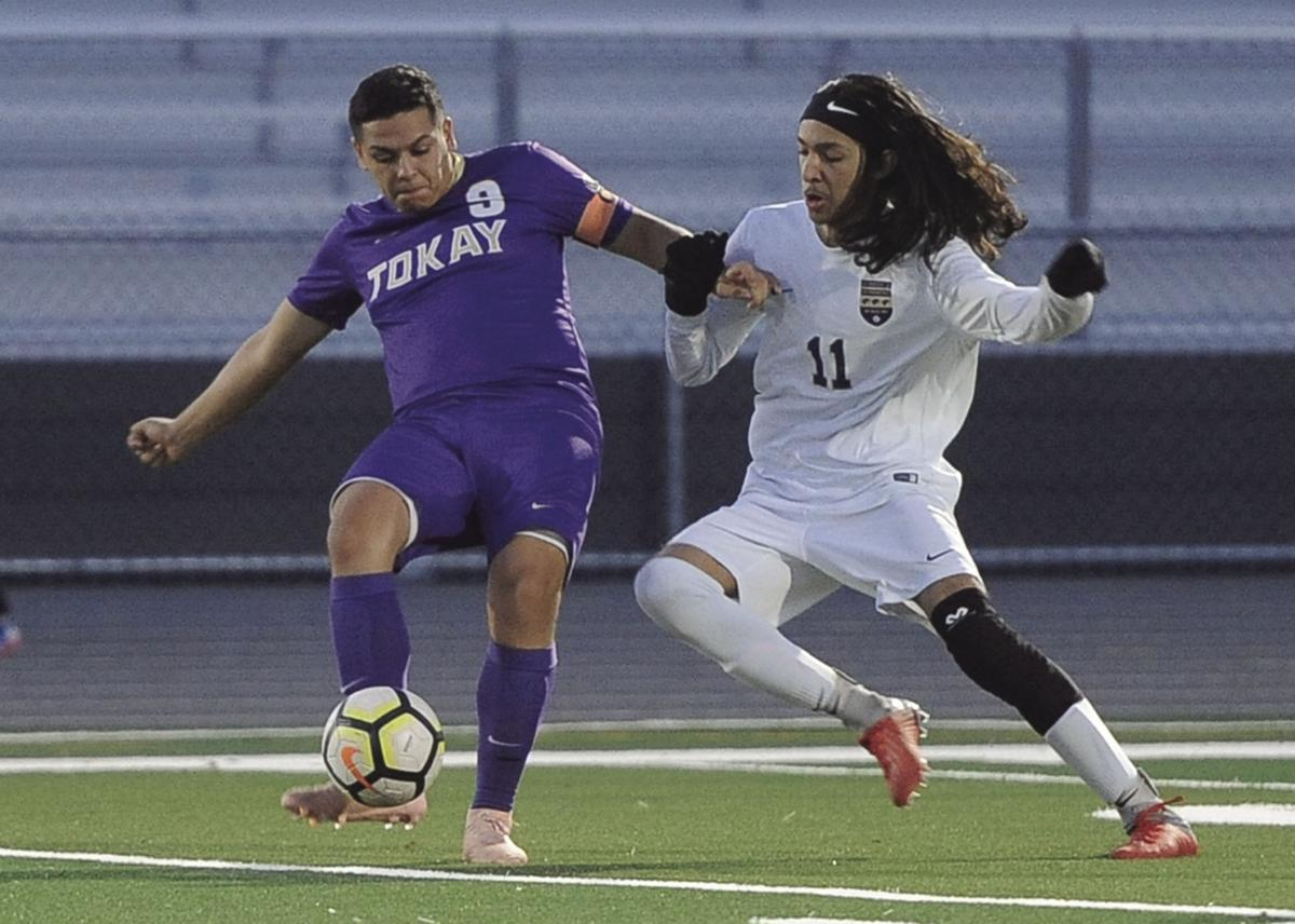 Boys soccer: Hat trick gives Tigers victory
