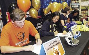 Seven Lodi area student-athletes ink with colleges