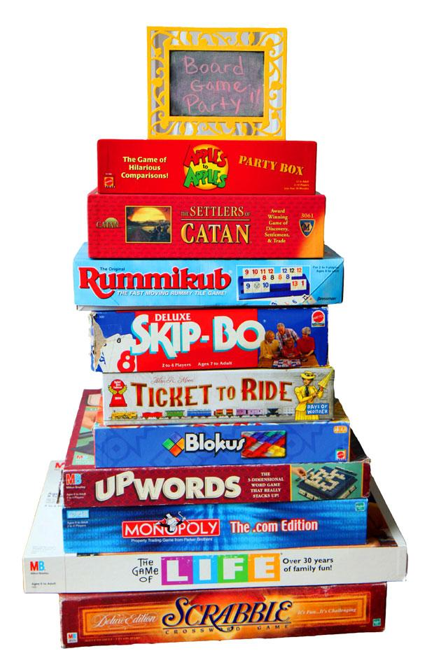 Break out the board games!